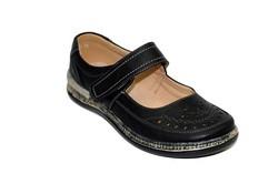 Дамски ортопедични обувки - 6691 - черни