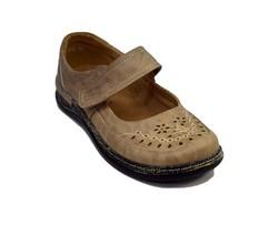 Ортопедични дамски обувки - 6691 - бежови