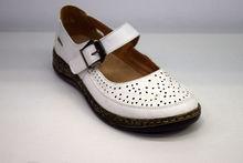 Дамски ортопедични обувки - 6692 - бели