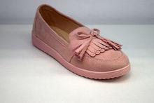 Комфортни дамски пантофки - 2820 - розови