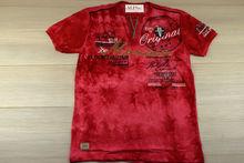 Мъжка тениска в макси размери - MONACO - корал до 5 XL