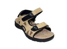 Мъжки сандали - 4411 - светло бежови