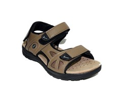 Мъжки сандали - 4411 - светло кафяви