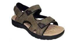 Мъжки сандали - 4413 - цвят каки