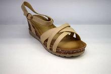 Дамски ежедневни сандали - 2823 - бежови