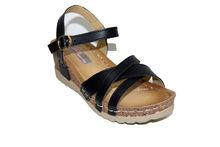 Дамски ежедневни сандали - 2823 - черни