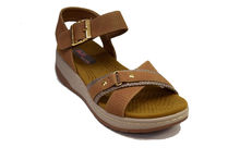Дамски сандали - 2833 - бежови