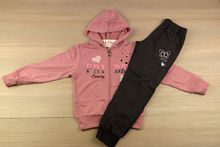 Спортен екип за момичета розов - 667-  за 8,10,12,14,16 годишни