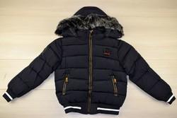 Зимно яке черно - 9008 - за момчета от 8 до 16 г.