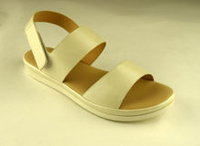Бели дамски сандали - А 2838 -