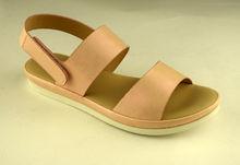 Розови дамски сандали - А 2838 -