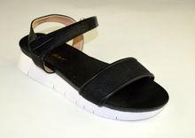 Дамски сандали ниски - А 2851 - черни