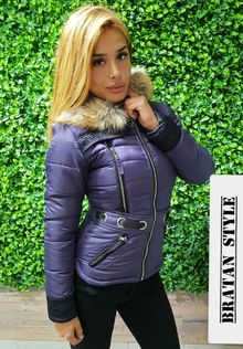 Дамско зимно модно яке -код 3113