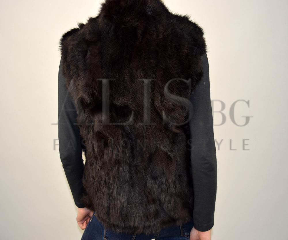 7e6770d560a Дамски елек ЕСТЕСТВЕН КОСЪМ - Alis.bg - Fashion & Style