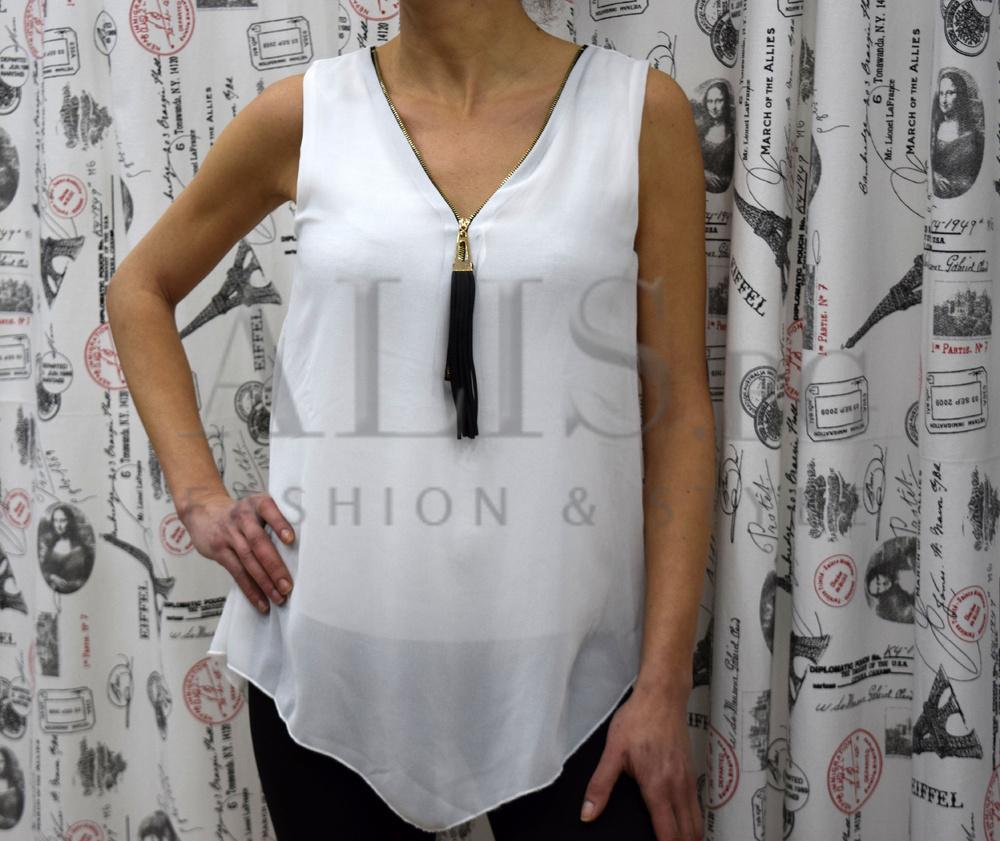 a65f7522578 Дамски елегантен потник - MOLLY- бял - Alis.bg - Fashion & Style