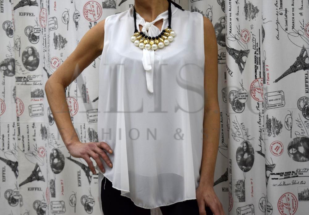 7b6580ca083 Елегантен дамски потник - KATE - бял - Alis.bg - Fashion & Style