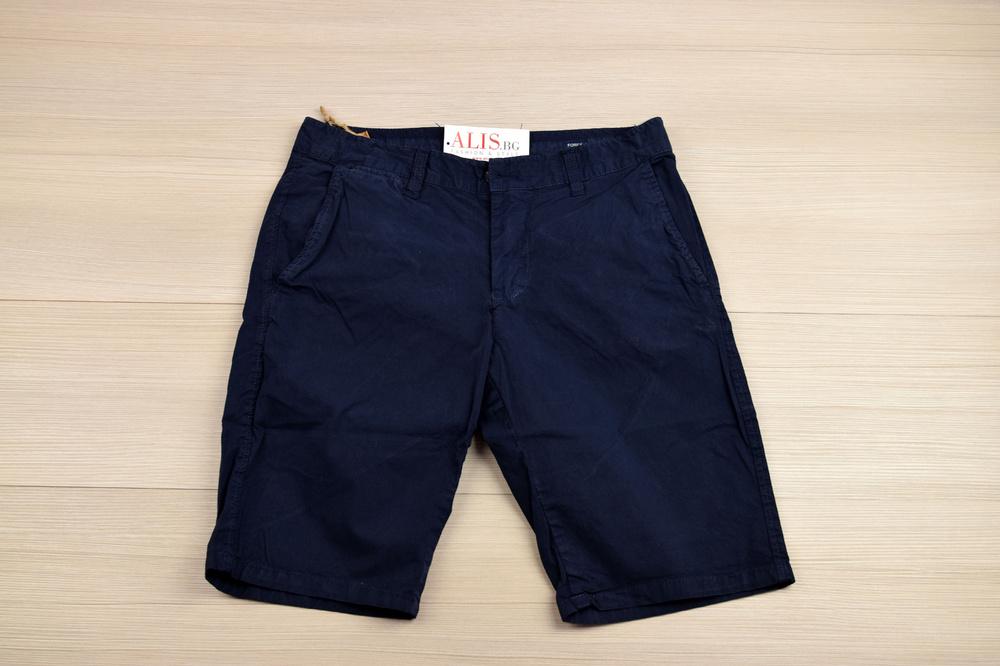 5fa2d691de8 Модни мъжки къси панталони - MEN VOGUE SERIES - в тъмно синьо, горчиц