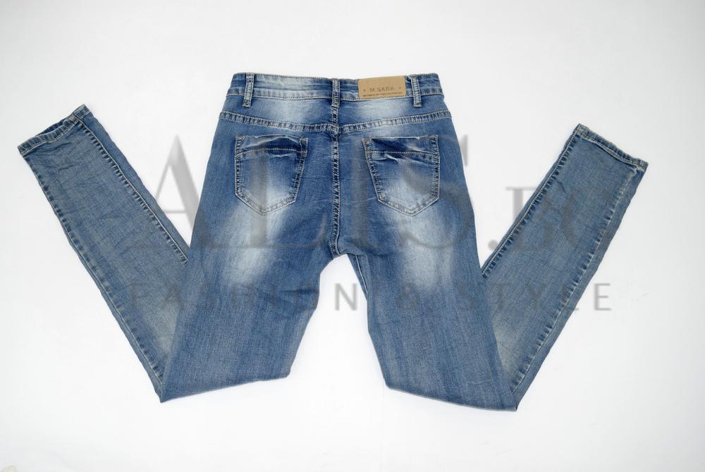 446e68ecb77 Дамски дънки големи размери - HANNAH - светло сини - Alis.bg - Fashio