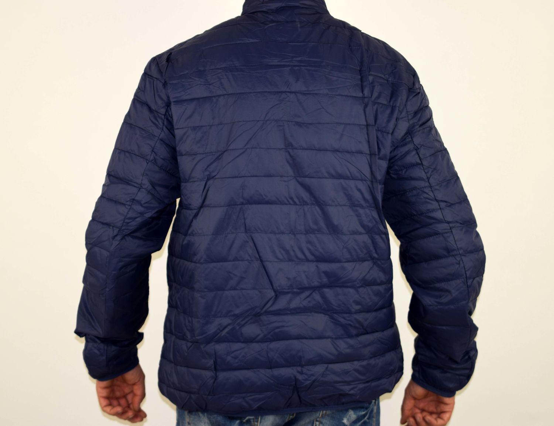 1ce9ed1b011 Пролетно - есенно мъжко яке - 1106 - тъмно синьо големи размери - Ali