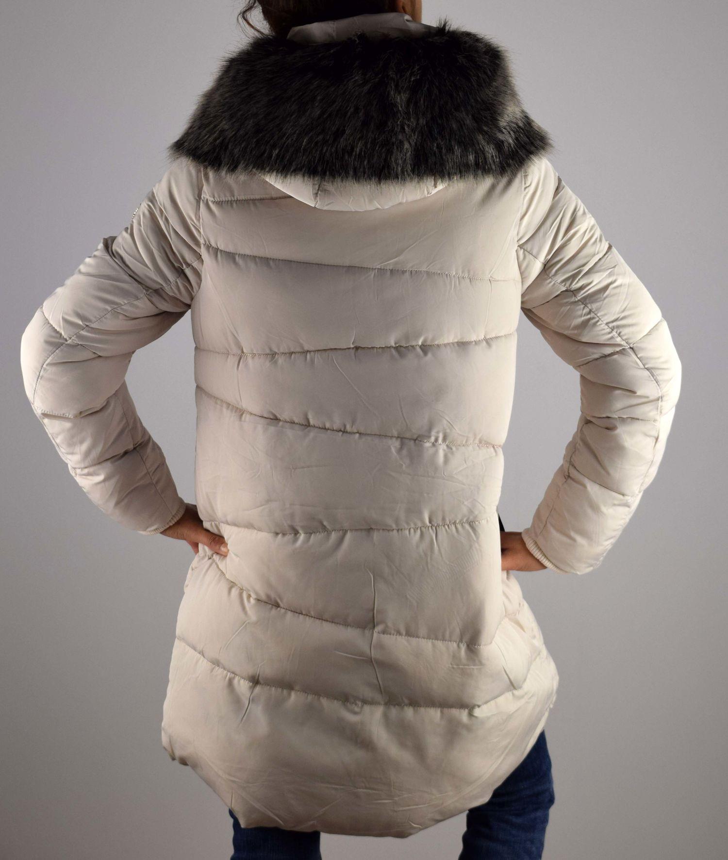 57fc6a853f7 пухени зимни дамски якета топли зимни дамски якета дълги зимни дамски якета  ...