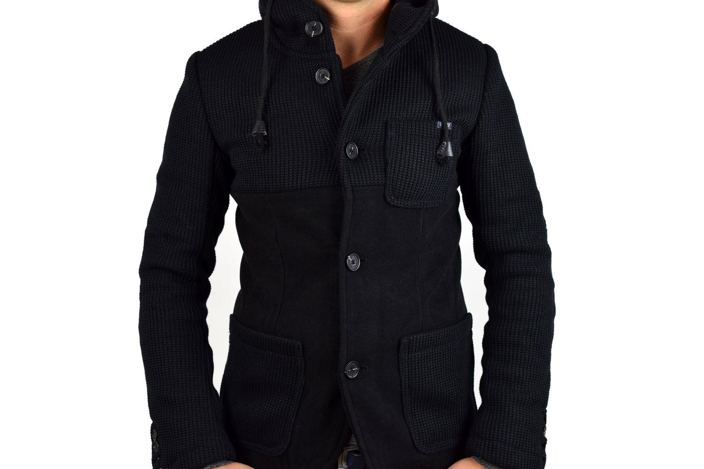 83a24ba58f3 Елегантно мъжко яке тип сако - черно - Alis.bg - Fashion & Style