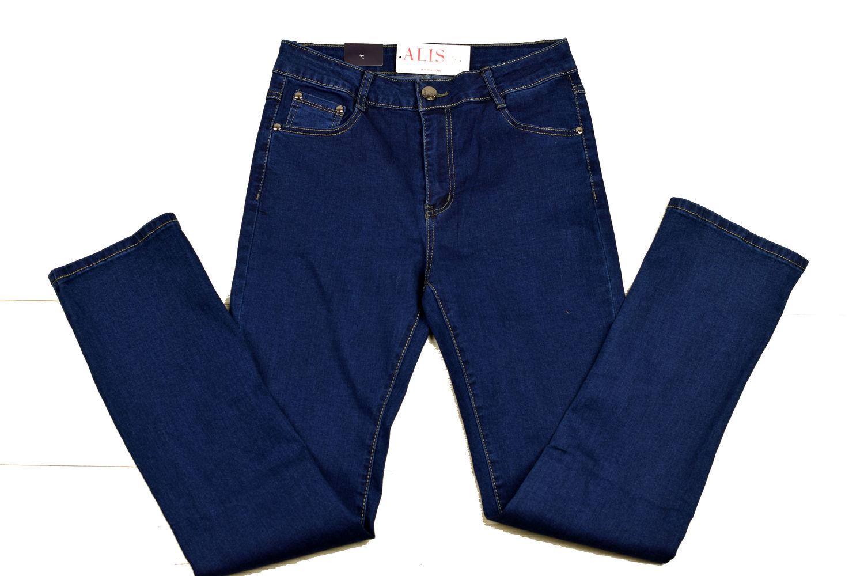 8c107bb9f4f Класически дамски дънки големи размери - SUNBIRD - сини - Alis.bg - F