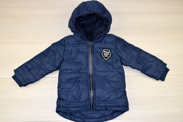 808db2e2101 Есенно/зимно яке за момчета - 4007 - тъмно синьо от 1 до 5 г. - Alis.