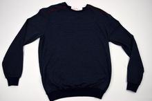 Мъжка блуза в тъмно синьо до 5ХЛ