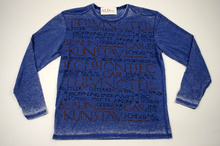 Мъжка модна блуза с надписи 4ХЛ
