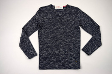 Мъжка блуза/пуловер меланж до 4ХЛ