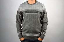 Стилен мъжки пуловер в сиво ВЪЛНА