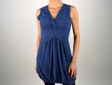 Дамска ежедневна рокля в синьо