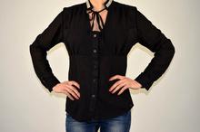 Дамска елегантна риза ТОП Модел в черно
