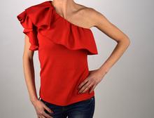 Дамска блуза с едно рамо