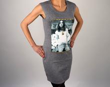 Дамска ежедневна рокля в сиво