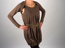 Дамска рокля с ръкави/болеро