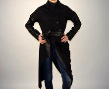 Дамска луксозна връхна дреха/тренчкот
