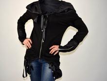 Дамска спортно-елегантна горница в черно