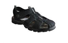 Комфортни мъжки сандали - черни