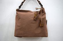 Дамска велурена чанта