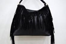 Дамска чанта с ресни