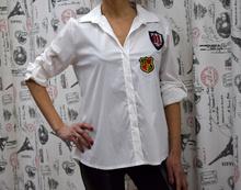 Дамска риза -MATILDA- бяла