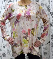 Дамска блуза с дълъг ръкав- CHLOE- розова