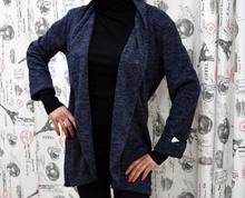 Дамска жилетка - MARIA - тъмно синя