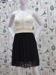 Елегантна дамска рокля -KAITLYN - черна