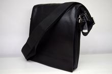 Мъжка чанта ЛУКС колекция - WILLIAM -  с магнитен капак  черна