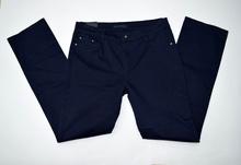 Дамски панталон голям размер - RACHEL - тъмно син