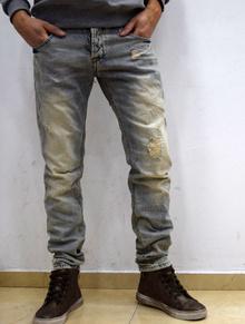 Модни мъжки дънки - BRAYDEN - светло  сини