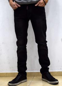 Класически мъжки дънки - CONNOR - черни