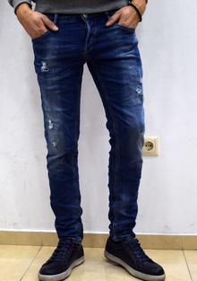 Модни мъжки дънки - CHRISTOPHER - сини